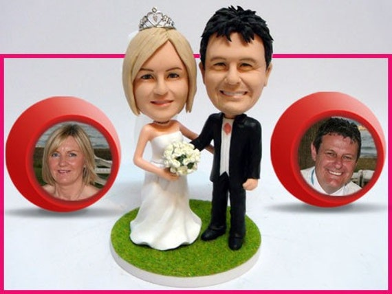Customized MiniYou Wedding Cake Topper