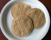 Peanut Butter Cookies - Felt Play Food