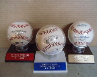 Baseball Holder, Trophy display case, Custom Engraved, showcase CHOICE of Colors