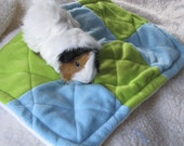 Patchwork Piggy Pad- cage liner for small animals