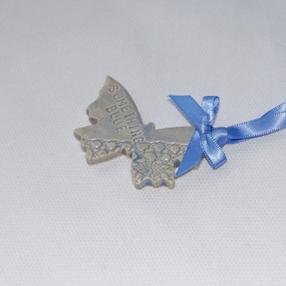 Something Blue, Ceramic butterfly bridal gift. Hen night bridal gift for good luck. something old, something new,