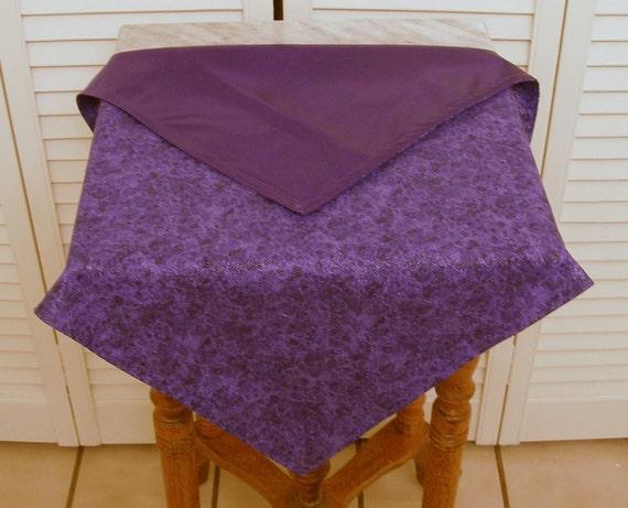 Purple Combo Altar Cloth, Reversable