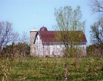 Barn In Spring-8x10