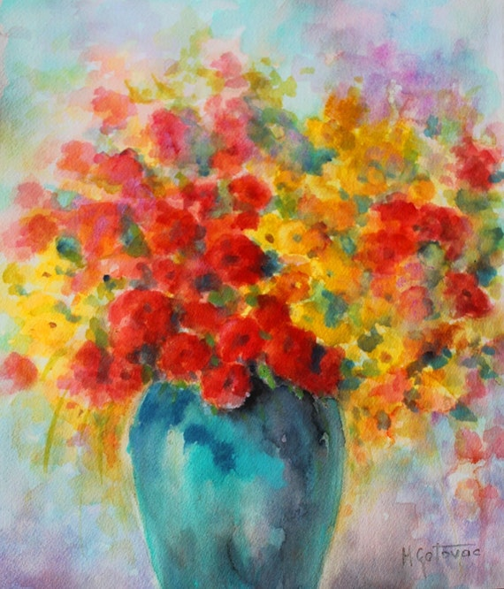 Still Life- Watercolor Original Painting