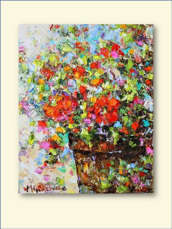 Still Life- Original Abstract Oil Painting