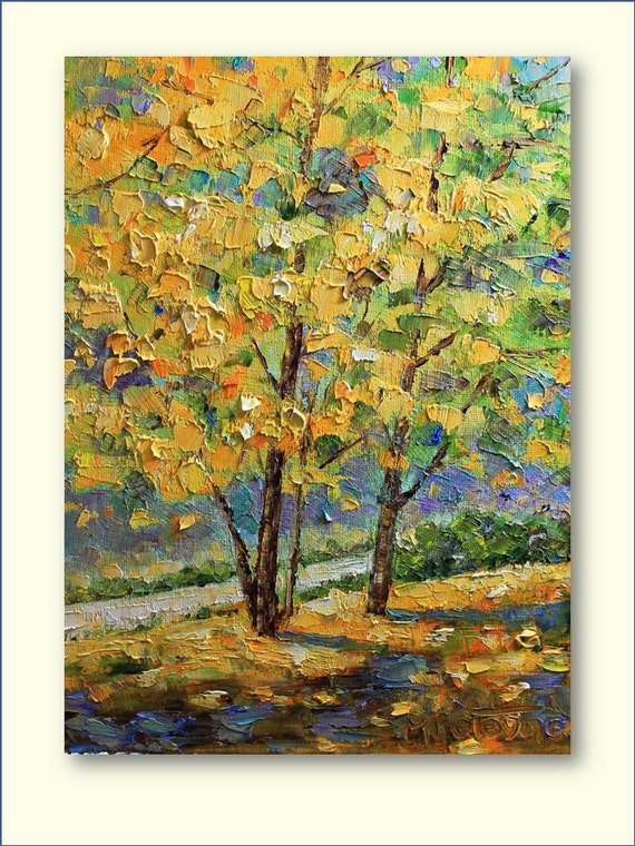 Autumm- Original Oil Painting- Reserved for Bethan