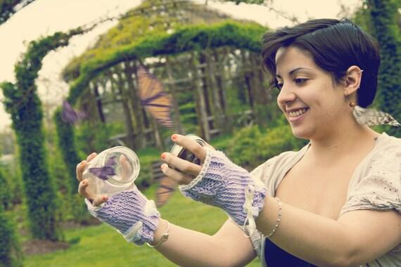 Lavender Tea Party Gloves
