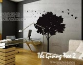 Wall Decor Decal Sticker Removable Vinyl tree 0033