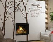 LARGE Wall Decor Decal Sticker Removable Vinyl forest
