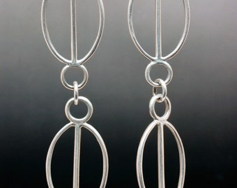 Double Threaded Earrings