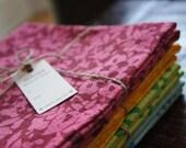 Rustic Flour Sack Towel  Paprika 28 x 29