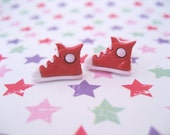 Little Red or Blue Shoes Studs