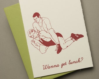 Wanna get lunch card