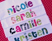 Personalized   Pillowcase  ....   Choose Your Fabrics and Pillowcase Color.... birthday gift....graduation gift