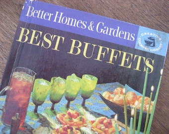 1963 Best Buffets, Better Homes and Gardens Vintage Cookbook, Creative Cooking Library
