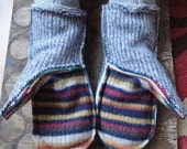 amazing upcycled adult mittens