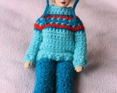 Crochet Barbie Ski Outfit