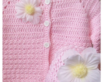 Pink Sweater and Hat Set