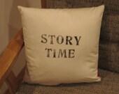 Custom Book Nook Pillow