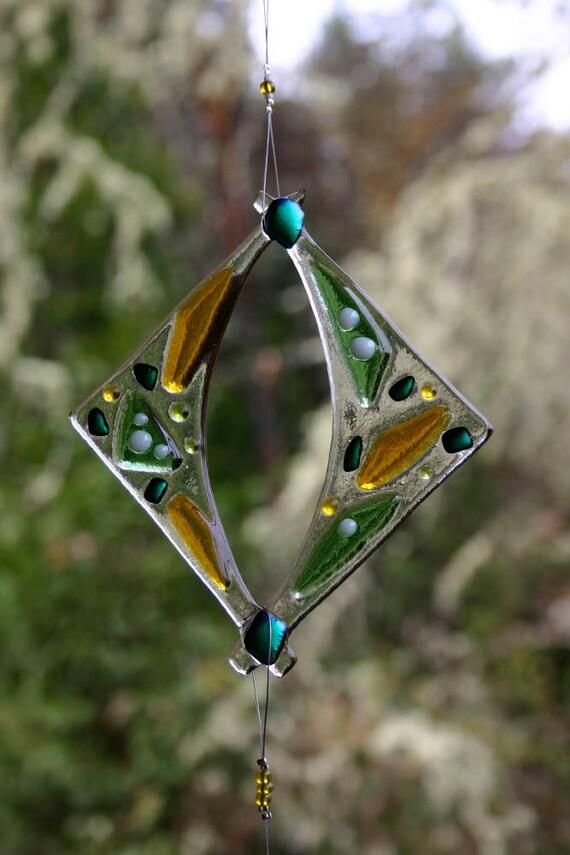 Glass Suncatcher Window Garden Ornament Custom Order