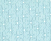 12 Days of Christmas - Bows on icicle blue - Kate Spain - Moda -1 yard