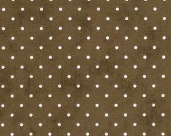 MODA-Essential Dots in cocoa brown