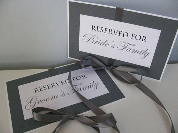 SET of 2  Wedding Seating Chair Sign Mr and Mrs Reception Reserved Save the Date Photo Booth Prop Candy Table Escort Table