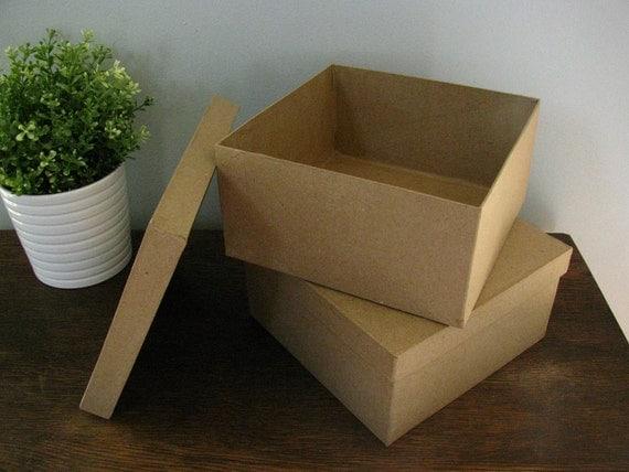 Items Similar To DIY Rustic Wedding Card Amenity Keepsake Box SET OF 2 On Etsy