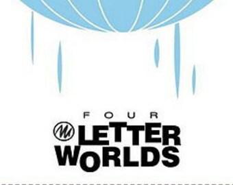 SALE: Four Letter Worlds comics anthology, signed by Jeff Parker and Steve Lieber