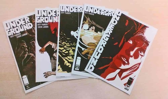 Underground- All five issues of the original series.