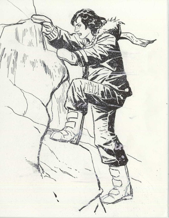WHITEOUT sketch by Steve Lieber