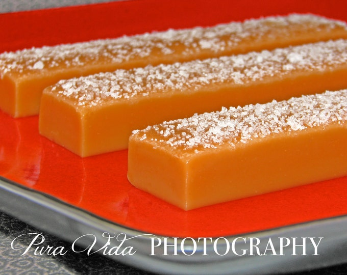 Fleur de Sel Salted Caramels Cut Your Own Style - you select serving size - a bite or the whole bar!