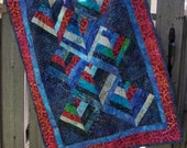 Quilted Batik Wallhanging