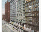 Marshall Field Department Store Chicago Illinois postcard