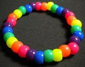 3 pack Harajuku-Kandi Raver-Rave Neon Bracelet