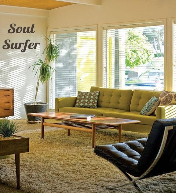 Soul Sufer Adventure - Tropical Summer Text  - Vinyl wall art decals stickers by 3rdaveshore brown tan sand surf art 72