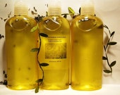 Handcrafted Organic Oil Hair and Body Shampoo 8oz