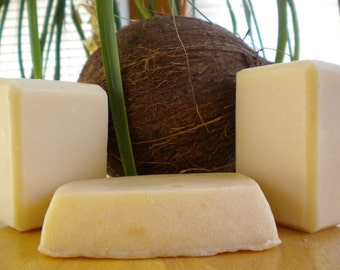 Handmade 2 Milk Soap Bar  Coconut Milk and Goat Milk 5 oz