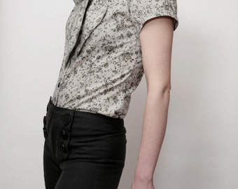 1940s inspired high waist Marlene trousers