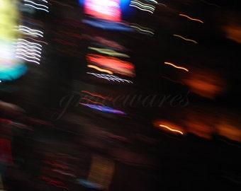 LIGHTS ABSTRACT 004 - 8x10 Fine Art Photograph