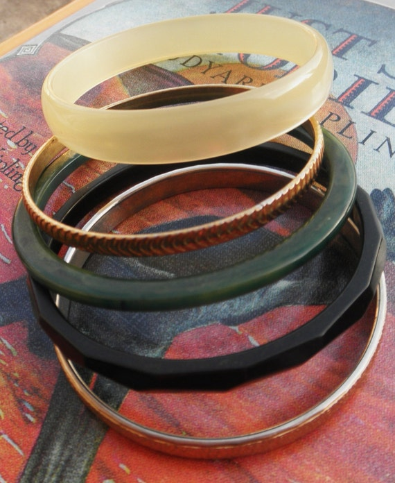 Bakelite and Brass and Lucite Oh My