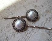Pearl Bridal bobby pins