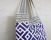 Graphic Mosaic Tote