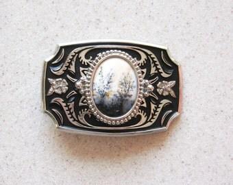 Handmade Gemstone Belt Buckle - BB20