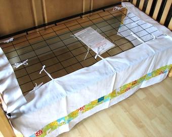 Custom Adjustable Crib Skirt