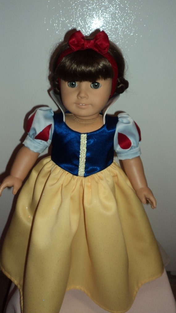 American Girl Doll Clothes  -  Snow White Costume