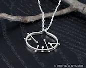 Silver Galaxy Necklace