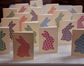 Reserved Listing For Felicity Custom Order - Japanese Bunny Easter Cards