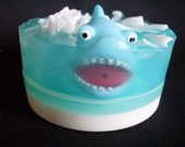 Shark Soap With Shark Squirt Toy Inside