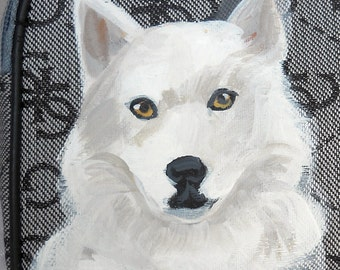 Husky Dog Coin Purse ~ Gifts For Her ~ April Birthday  ~ Dog Coin Purse ~ Gifts Under 20 ~ Dog Portrait